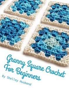 Beginner's Granny Square #Crochet ebook free from @spincushions