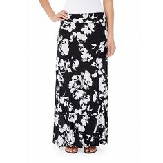 daisy fuentes® Striped Pieced Maxi Skirt - Women's,  Like both the color and length of this skirt.