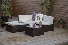 Rattan Wicker Weave Garden Furniture Conservatory Modular Corner Sofa Set INCLUDES GARDEN FURNITURE COVER (Brown) Abreo http://www.amazon.co.uk/dp/B00J8VQL5U/ref=cm_sw_r_pi_dp_2iW7wb0CHJ57E