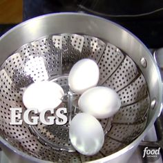 Alton Brown explains a foolproof way to hard-cook (not boil) eggs.