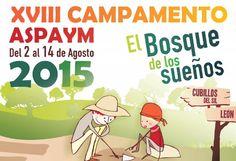 #Aspaym Castilla y León organiza un #Campamento con actividades adaptadas y accesibles para todos en El Bosque de los sueños en Cubillos del Sil #León para niños, niñas y jóvenes de 6 a 17 años con y sin #discapacidad http://www.campamentos.info/viewproperty/campamento-aspaym/471/es-ES