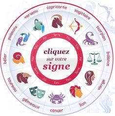 Sélectionnez votre signe astro pour ouvrir votre horoscope