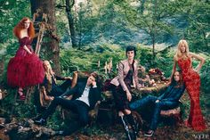 What Sarah Burton, Christopher Bailey, and Stella McCartney and more in Vogue September 2012 issue.