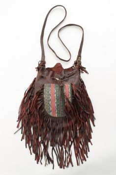 Tribal Tassel Bag – Antique Brown   Spell & The Gypsy Collective- $220.00