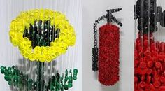Resultado de imagen de esculturas con botones
