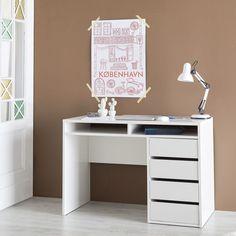 die besten 25 schreibtisch wei hochglanz ideen auf. Black Bedroom Furniture Sets. Home Design Ideas