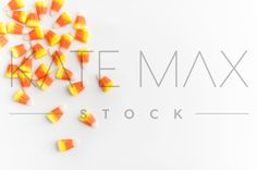 """Candy Corn perfection!   Scary Gorgeous Halloween Images for your Feed & Posts & Site!   """"Social Media images made easy!"""" > > TONS of gorgeous images for YOU to use!! > > KateMaxStock.com   Styled Stock Photography / KateMaxStock / Flat Lay / Product Mockup / Pretty Office / Desk From Above / Gorgeous Branding / Branding Colors / Office Styling / Pretty Office / Social Media Background / Instagram Image / Blog Photo / Photos for your Blog   katemaxstock-2180"""