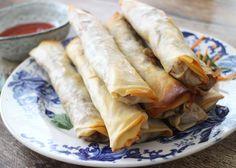 Culy Homemade: loempia's met kip uit de oven