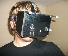 DIY Virtual Reality headset DIY Oculus Rift