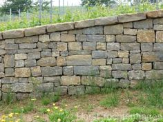 Naturstein - Mauersteine Muschelkalk verschiedenen Größen klein