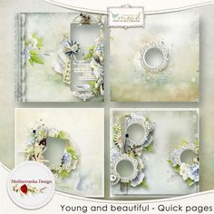 Young and beautiful (Quick pages) by Mediterranka Design http://www.myscrapartdigital.com/shop/index.php?main_page=product_info&cPath=24_94&products_id=3243