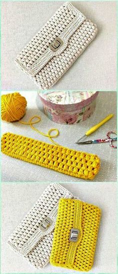 A list of Crochet Clutch Bag & Purse Free Patterns. These crochet patterns to crafts clutches and evening bags for special occasions.