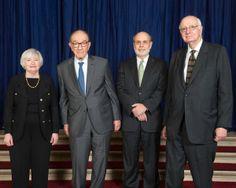 Janet L. Yellen; Alan Greenspan; Ben S. Bernanke; Paul A. Volcker