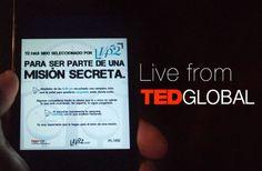 Misión secreta en TEDxDF.