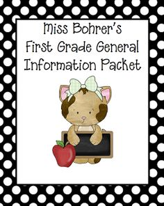 Classroom Freebies: Parent Guide to First Grade