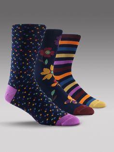 Luxury Patterned Socks by Duchamp                                                                                                                                                                                 Más