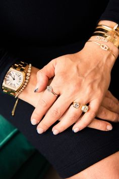 How Jemma Wynne Became One of the Most-Wanted Jewelry lines: how to stack jewelry. | coveteur.com