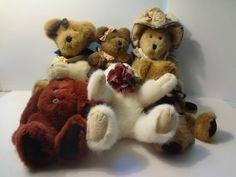 Boyds Bears plush lot of 6 collectable stuffies Boyds Bears, Plush, Teddy Bear, Toys, Animals, Ebay, Animais, Animales, Animaux