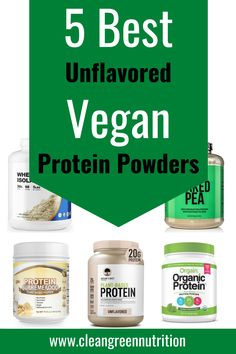 Vegan Protein Options, Best Vegan Protein Powder, Protein Powder For Women, Vegan Options, Zero Calorie Drinks, Unflavored Protein Powder, Protein To Build Muscle, Plant Based Protein Powder, Bodybuilding Diet