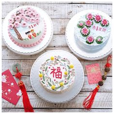 迎新欢旧 祝好年 Special Chinese New Year edition cakes. 25-26-27 Jan are fully book already. I still have few slots left for 24 January 2017. You may choose from these three decoration: 1. Prosperity (P) 2. Lotus (L) 3. Cherry blossoms (C) • Thank you for order - enjoy - repeat