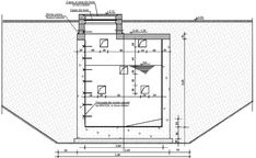 Fosa septica din beton - Cum se face o fosa septica betonata? Septic Tank Design, Septic Tank Systems, Septic System, Concrete Walkway, Concrete Blocks, Concrete Block Foundation, Outdoor Toilet, Shipping Container House Plans, Modern Homesteading
