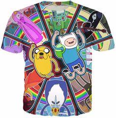 Adventure Time Retro Shirt