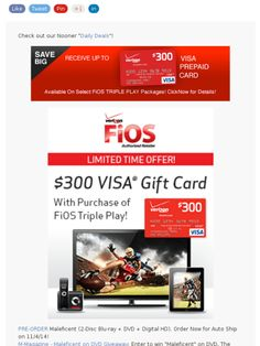 verizon fios package offers