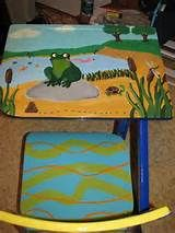 old school desk painted - Yahoo Image Search Results