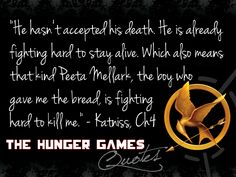 #BookQuotes - #TheHungerGames #1 by #SuzanneCollins