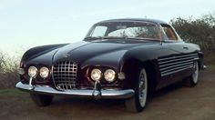 This 1953 Cadillac coupe was bodied by Ghia, bought by Aly Khan and given to Rita Hayworth. Petrolicious swings by the Petersen to check it out.