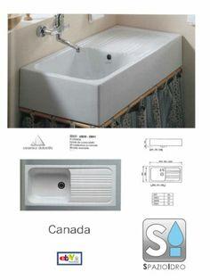 Lavello a 1 vasca / in ceramica KMPW1000 Kenny&Mason | Casa Pietro ...