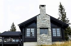 I really fancy this color scheme for this Mountain Cottage, Winter Cabin, Native Style, Scandinavian Home, Duravit, Decoration, Real Estate, Architecture, House Styles