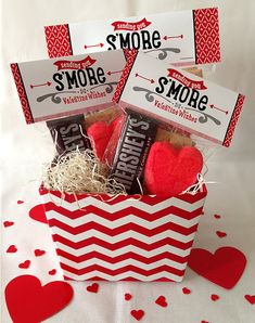 Valentine Smores Bag Toppers Instant Download by LisaMariesaDesign, $5.00