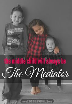 The middle child tends to get a bad reputation for being ignored and forgotten but in fact, they are the glue that holds a family together.
