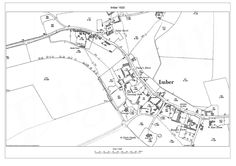 Imber Village Map 1920 Local History, Family History, Salisbury Plain, Village Map, Army Training, Troops, Abandoned, House, Left Out