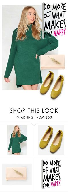 """dress"" by masayuki4499 ❤ liked on Polyvore featuring Nasty Gal and Everlane"