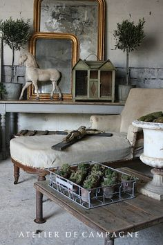 Antiques from Atelier de Campagne