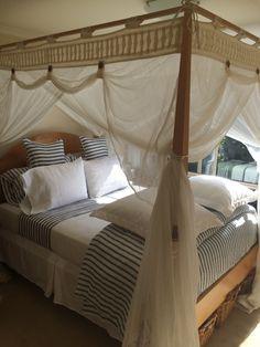 My summer bed, linen sheets, pillowcases, duvet cover and silk European pillowcases Love