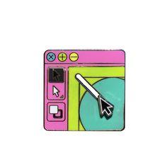 Image of Designer pin (moving)