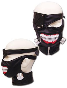 - Finish off that cosplay of Kaneki from Tokyo Ghoul, with Kaneki's Mask! - Officially Licensed Cosplay Mask
