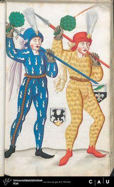 Nürnberger Schembart-Buch Erscheinungsjahr: 16XX  Cod. ms. KB 395  Folio 56
