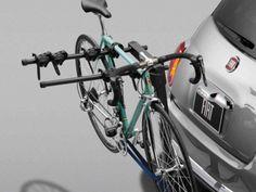 2013 Fiat 500-Abarth Bicycle Carrier, Hitch-Mount Fiat Accessories, Fiat 500e, Fiat Models, Bike Rack, Roof Rack, Road Bike, Bicycle, Bike