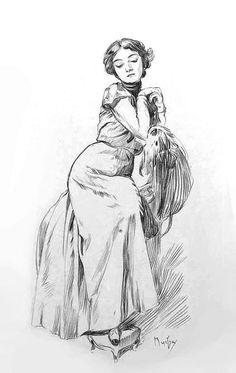 Alphonse Mucha sketches - Album on Imgur