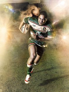 Leicester Tigers Team advertising - BY: Simon Derviller Best Rugby Player, Rugby Players, Leicester Tigers, Tiger Team, Rugby Sport, Making Waves, Illustrations, Best Games, Athlete