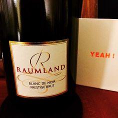 #Raumland, Blanc de Noir, Prestige Brut #weinerleben
