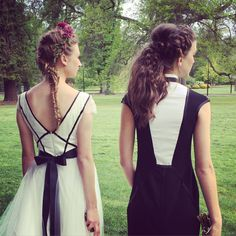 behind the scene, sneak peak.. Thanks to our amazing models Tillie &Bronte brazenmodels  Hair and Makeup by The Girl in the Green Scarf  Flowers good grace and humour    Gowns nicolangela   Photograher katie kavphoto   Stylist rabbit hole designs   #braides #bridesmaids #weddings #weddinghair #weddinginspo #weddingsmelbourne #styledshoot #pretty #makeupartist #romantichair #bridebook #fishtail