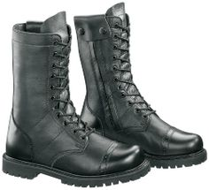 Bates Men's 11 Inches Paratrooper Side Zip Work Boot,Black,11 M US Leather  · Boots ...