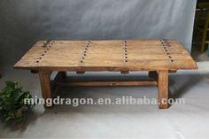 meubles antiques chinois en bois de pin shanxi couleur naturelle du bois porte ancienne table-image-Table basse-Id du produit:598006809-fren...