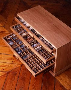 Image result for how to display rocks print drawer