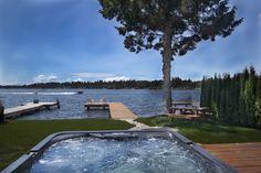 Hot Tub + Dock + Outdoor Living
